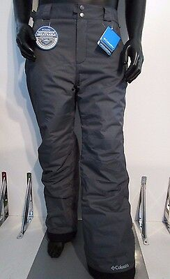 Mens S-M-L-XL-XXL Columbia Arctic Trip Insulated Waterproof Snow Ski Pants Gray