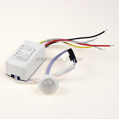 Automatic Body Motion Infrared Relay Sensor Switch AC 220V for Stairs Toilet