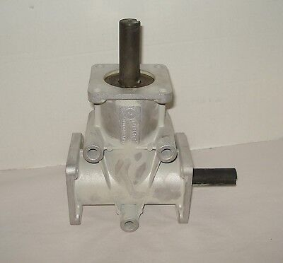 "Poggi 2:1  1"" Shaft 2-Way Right Angle Transmission Duffy Electric Boat Gearbox"