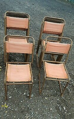 Pel Cox Stacking Chairs x17 vintage retro bar cafe home industrial Mid century