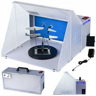 Master Airbrush Brand Portable Hobby Airbrush Spray Booth for Painting All Art,