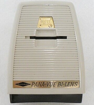 Sawyer's Pana-Vue Bi-Lens Lighted 2X2 Slide Viewer In Original Box