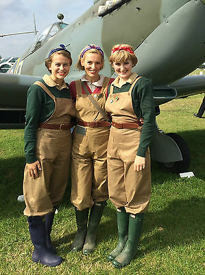 Wome's Land Army Dungarees, WLA, Land Girls, Home Front. WW2, 1940's