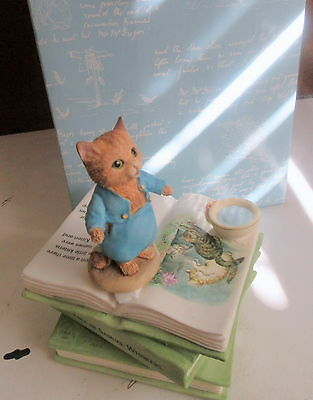 Border Fine Arts Beatrix Potter Tom Kitten Musical Waltz Of The Flowers A 9816