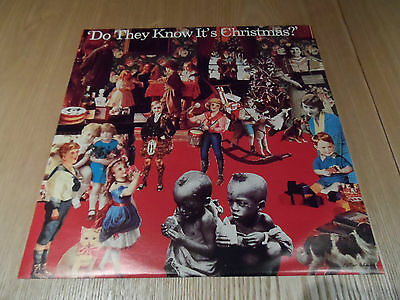 """Band Aid - Do They Know It's Christmas?/Feed The World 12"""" - FEED112 - EXC"""