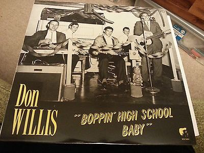 Vinyl - Don Willis - Boppin High School Baby - White Label - Lp Record