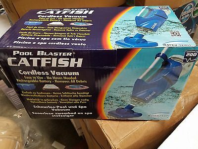 WaterTech Pool Blaster Catfish Swimming Pool Battery Operated Pool Spa Cleaner