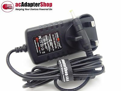12V LG BP325 3D Blu Ray Player HD 1080p UK Mains Power Supply Adapter Cable NEW