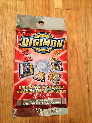 Digimon Cards Digi Battle Series 2 Booster Pack Sealed New English