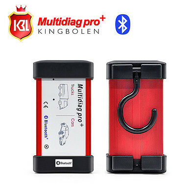 Multidiag pro+ with Bluetooth TCS software 2014.2 keygen + 4G TF Card for car