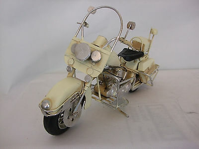 Tin Plate Model of a Ceam American Motorcycle /Ornament /Gift