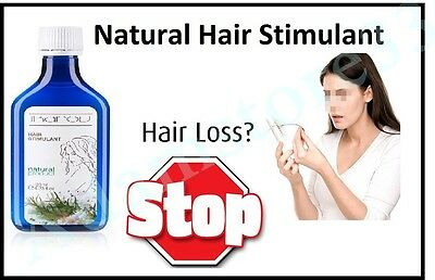 NEW 100% Natural Hair Stimulant Essential Oils Rosemary Almond Hair Loss Stop