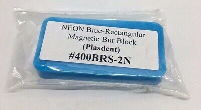Bur Block Rectangle Magnetic Dental FG Bur Block 14 Hole x 5