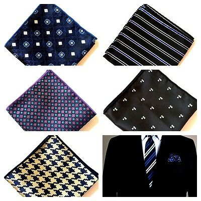 Men Pocket Square Wedding Party Handkerchief Hanky Gift