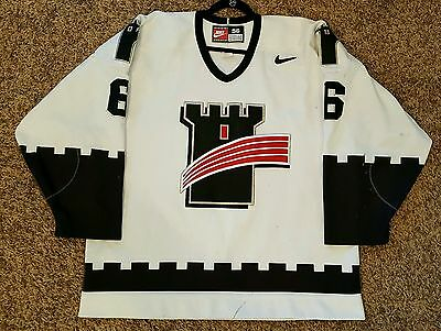 Quebec Remparts game worn jersey, Nike size 56