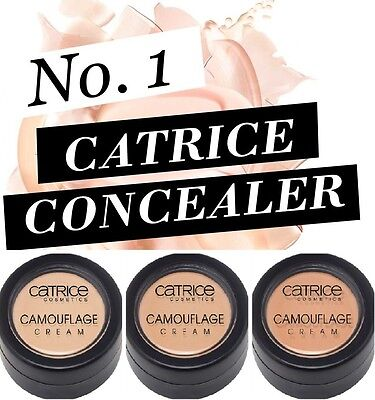 NEW Matte CATRICE Camouflage Cream High Coverage Long Lasting Concealer 3 SHADES