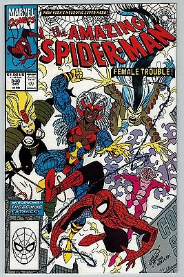 The Amazing Spider-Man #340 1990 (C6246) 1st Appearance of Femme Fatales