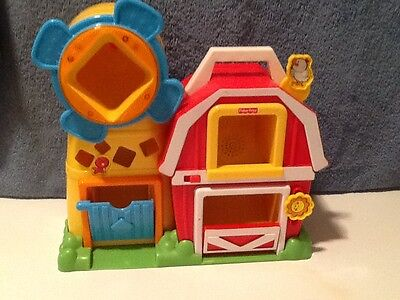 Vintage Fisher Price Peek a Boo Sing  and Sound Barn
