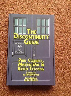 Doctor Who The Discontinuity Guide. Rare Book.