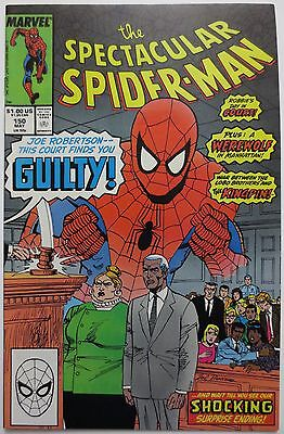 The Spectacular Spider-Man #150 (May 1989, Marvel) Peter Parker Kingpin (C1493)