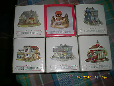 Lot of 6 Liberty Falls Collection ~ Assorted Buildings