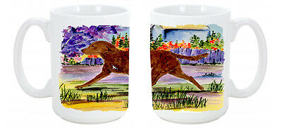 Chesapeake Bay Retriever Dishwasher Safe Microwavable Ceramic Coffee Mug 15 ounc