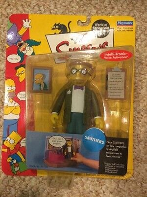 The Simpsons Wos Smithers Figure In Box New