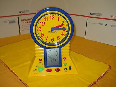 Clever Clock by Learning Resources #LER2998, Talking clock, problem solver
