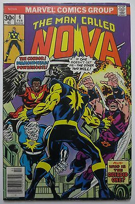 The Man Called Nova #6 Bronze Age Marvel Comic Book GD 1976 (C0900)