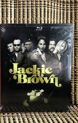 Jackie Brown (2-Disc Blu-ray/DVD)+Rare Slipcover Case.Quentin Tarantino
