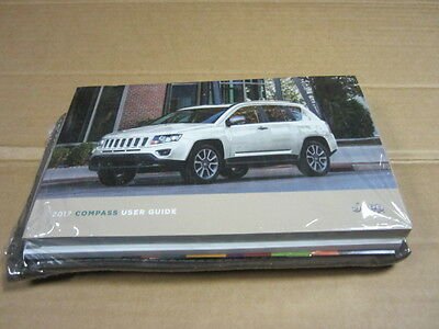 2017 Jeep Compass Owners Manual   (Oem)   Sealed     - J3359