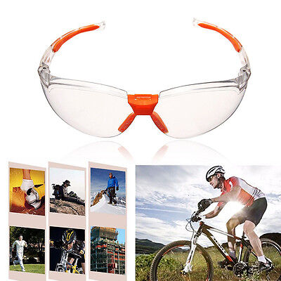 Dustproof riding Goggles Anti-Fog Safety Eye Protection Clear Protective Glasses