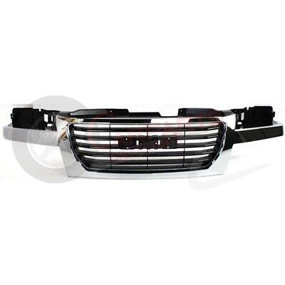 Gm1200530 New 2004 2012 Front Grille For Gmc Canyon  12335793