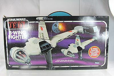 Kenner Star Wars B-Wing Fighter With Box Return Of The Jedi