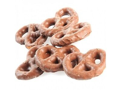 Milk Chocolate Covered Pretzels Candy New Great Gift Present Birthday - 1 x Bag