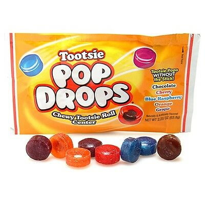 Tootsie Pop Drops - Tootsie Pops without the stick!  Various Flavours in one bag