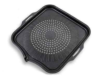 Korean KF CAMP Barbecue BBQ Grill Plate Pan, Camping Indoor Outdoor