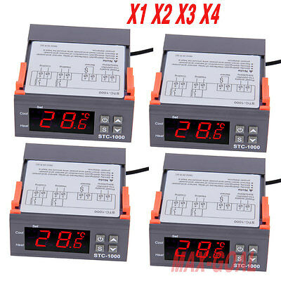 LOT Digital STC-1000 All-Purpose Temperature Controller Thermostat With Sensor G