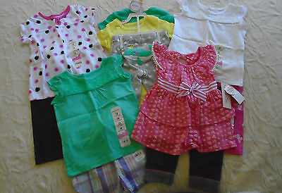 New 11 Pc. Lot Of Baby Girl Clothes 12-18 Months Nwt $126