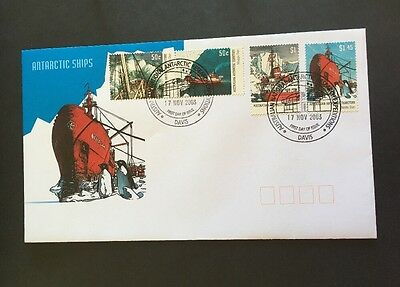 2003 AAT Antarctic Ships Davis Cancel FDC First Day Cover