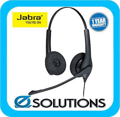 Jabra BIZ 1500 USB Duo corded Headset with noise-cancellation