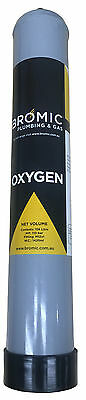 Replacement Disposable Oxygen Cylinder O2 Oxy 1.56L M12 Fitting Un 1072 Oxy005A