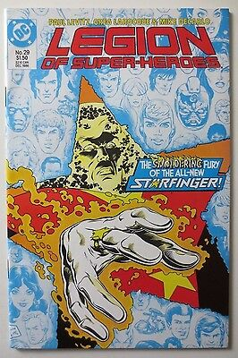 Legion of Super-Heroes #29 (Dec 1986, DC) (C5322) All New Starfinger