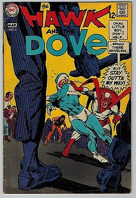 The Hawk and the Dove #4 1969 (C5987) DC Comics Silver Age