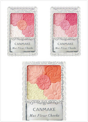 Canmake mat fleur cheeks 6g tree type From Japan