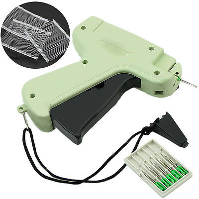 Clothes Price Tagging Label Garment Tag Machine + 1000 Barbs + 5 Needles New