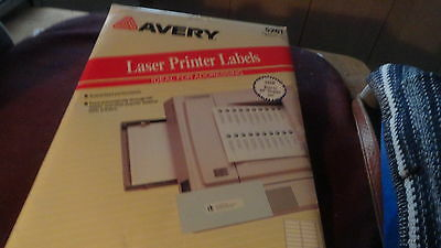 Avery Laser Printer Labels Ideal For Addresses  5261