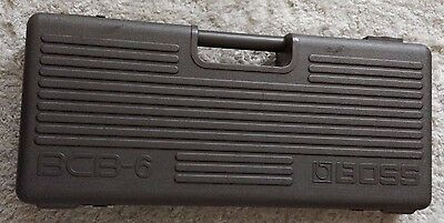 Vintage Boss Pedal Board BCB-6 (1986) - Missing one latch
