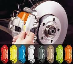Gloss Signal YELLOW Brake Caliper Paint for SAAB engine drum pads shoes