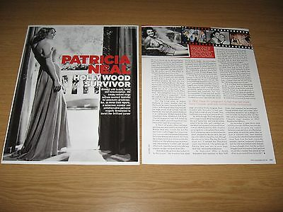 PATRICIA NEAL - 2 page magazine feature HOLLYWOOD SURVIVOR